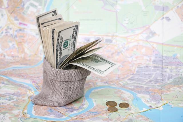 بردن پول نقد به سفر