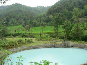آبگرم طبیعی و درمانی ازرو در سوادکوه