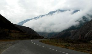 جاده بلده تا خانه نیما یوشیج