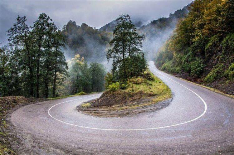 جاده سیاهکل و دیلمان