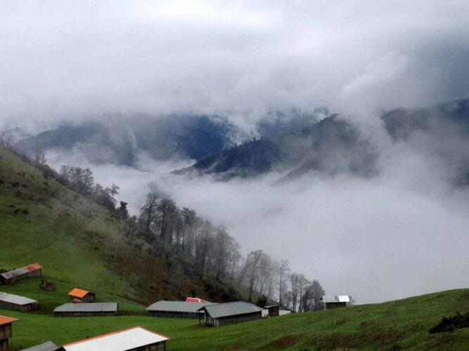 روستای ابر در گیلان