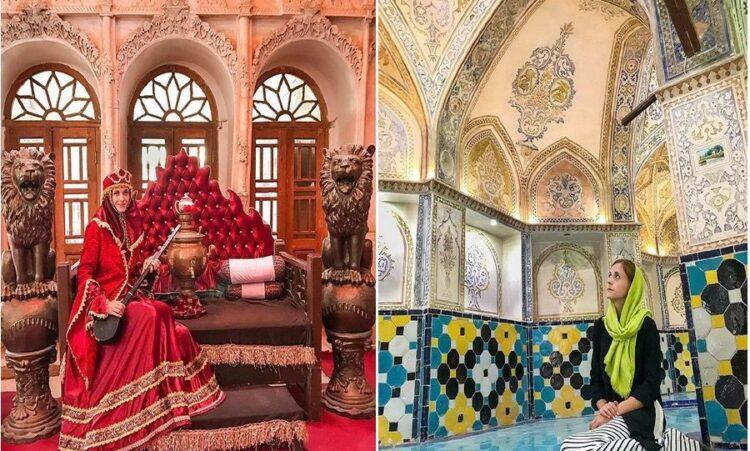 سفر تنهایی یک خانم لهستانی به ایران