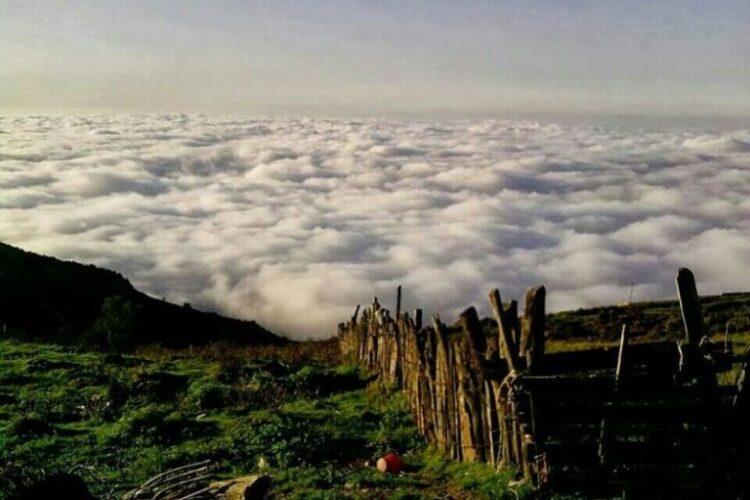 پدیده ابر در مناطق مختلف ایران