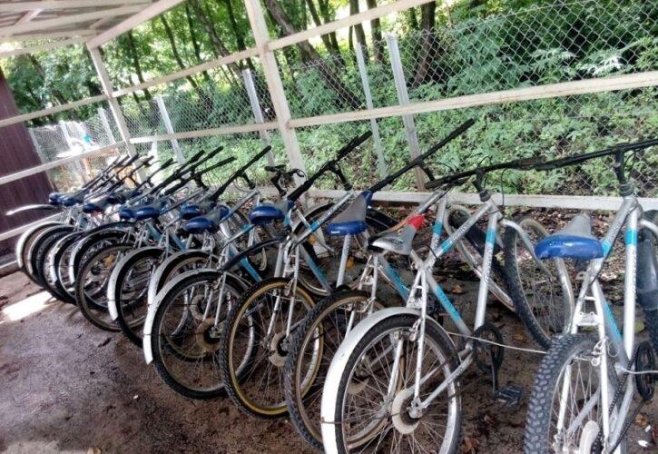 پیست دوچرخه سواری نمک آبرود