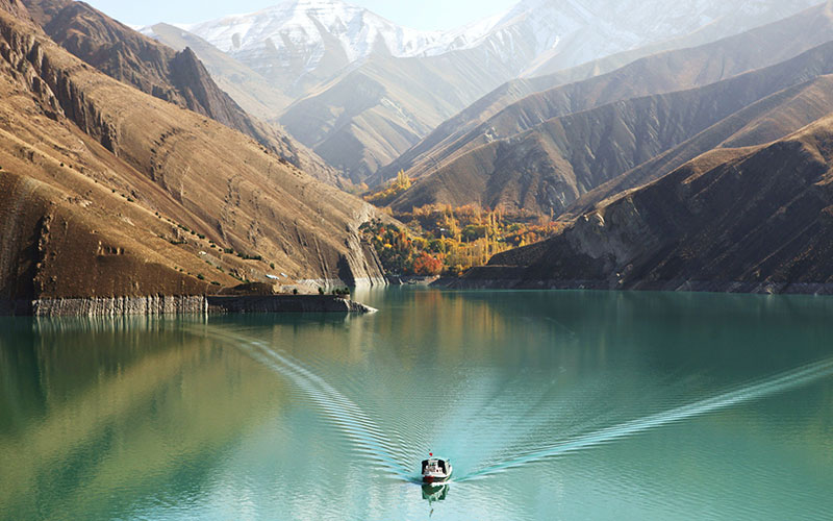 دریاچه و سد لتیان