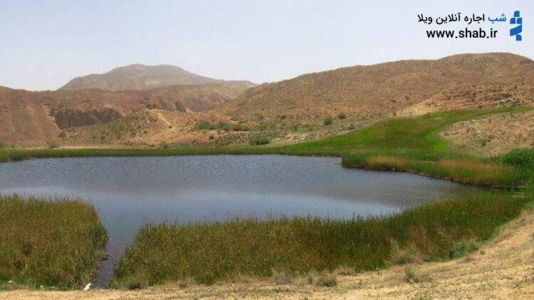 دریاچه آهنگ بهشتی در صد کیلومتری ایران