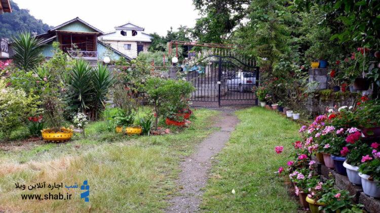 باغ محتشم شهر رشت معروف به پارک رشت