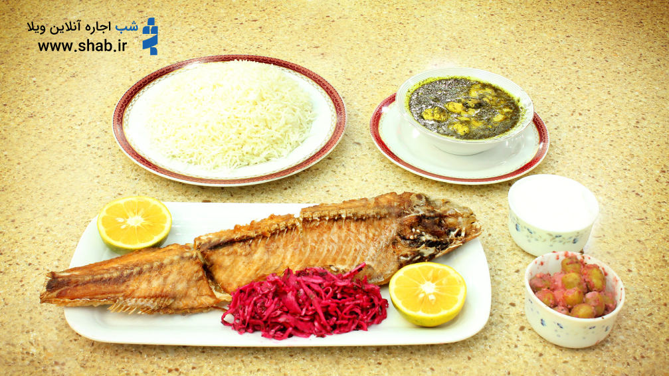 غذاهای محلی گیلان در رستوران ترنگ طلایی رشت