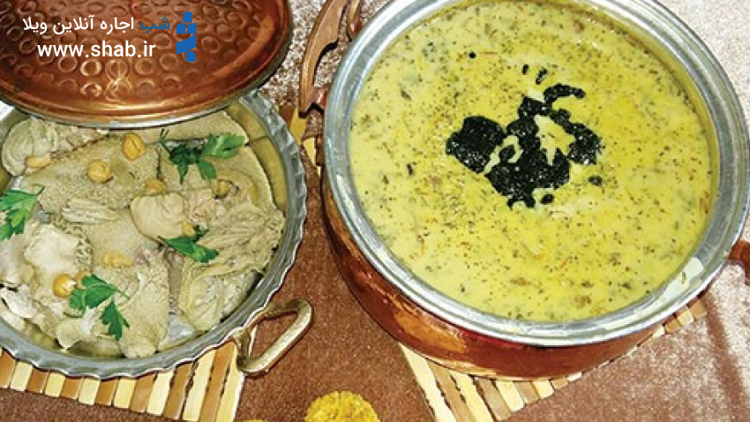 آش ترخینه غذای محبوب استان لرستان