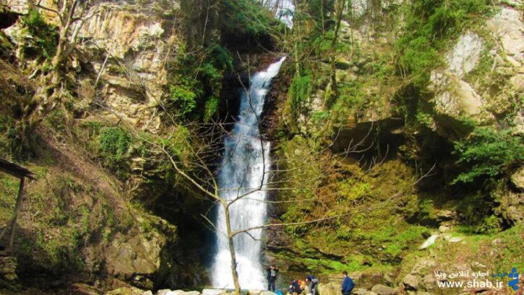 شفت سرزمین آبشارها