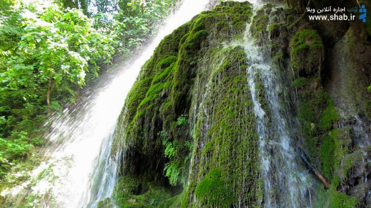 آبشار کبودوال، آنجا که آب بر روی مخملی سبز میرقصد