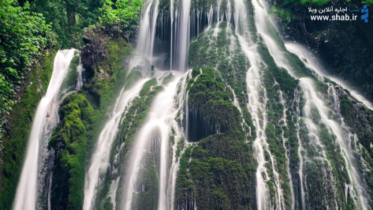 آبشارکبودوال جاذبه گردشگری استان گیلان