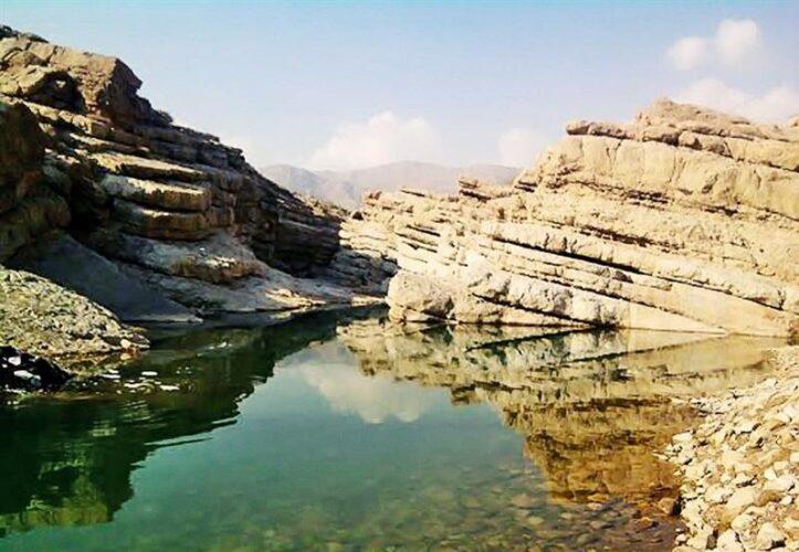 دره داماش جاذبه گردشگری بندر عباس