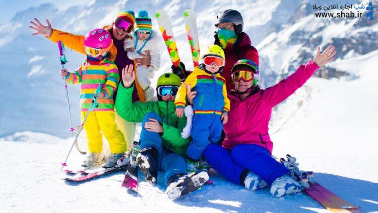 پیست اسکی دربندسر ، بهشت برفی تهران
