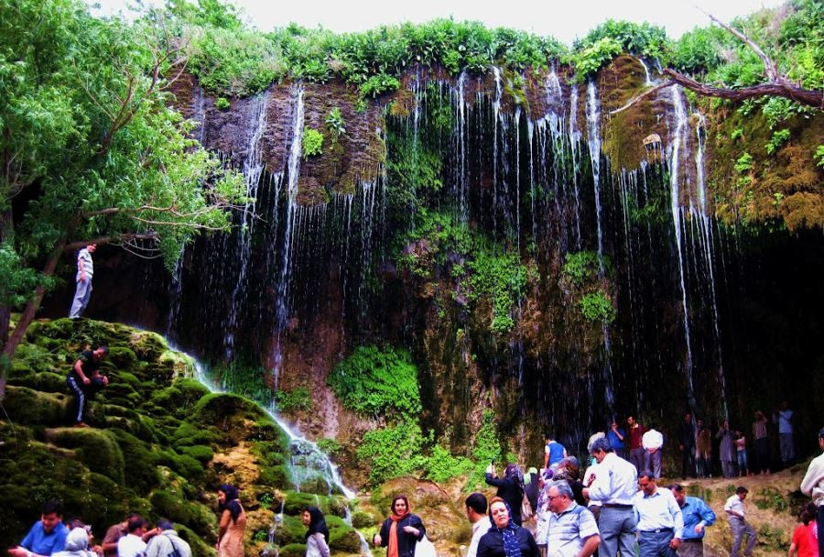 آبشار آسیاب خرابه جاذبه گردشگری جلفا