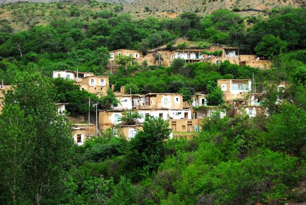 روستای پلکانی اشتبین آذربایجان شرقی
