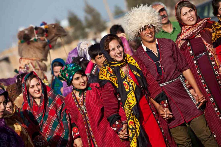 ترکمن صحرا در شمال استانهای گلستان و خراسان شمالی