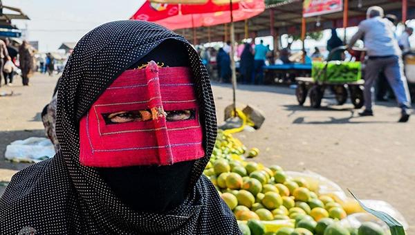 برقع پوشش زیبای زنان بندر عباس