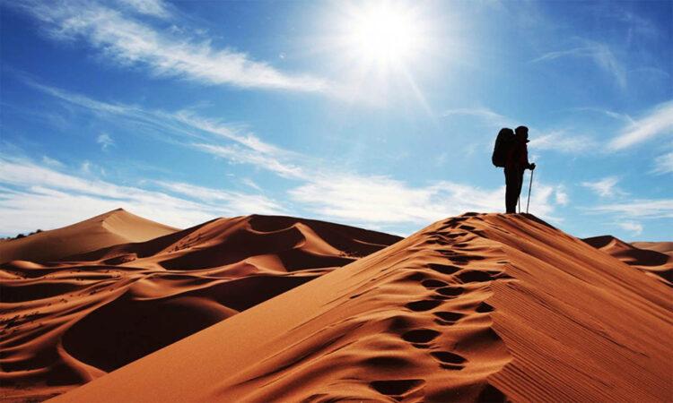 کویر مصر -  پرستاره ترین آسمان کویر