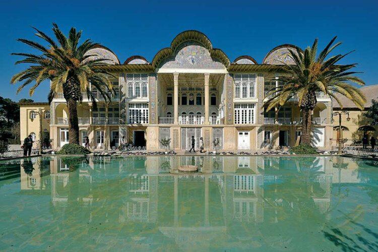 باغ ارم شیراز تصویر سازی ایرانیان از بهشت