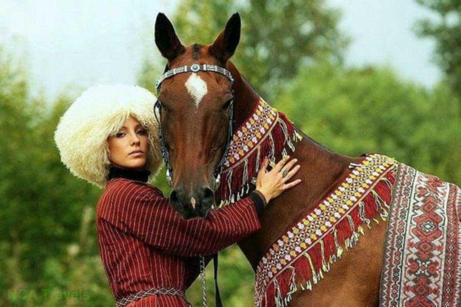 ترکمن صحرا سرزمین اسب های ترکمن