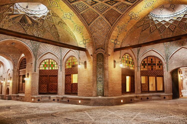 بازار قزوین با شاهکار معماری و قدمت هزار سال