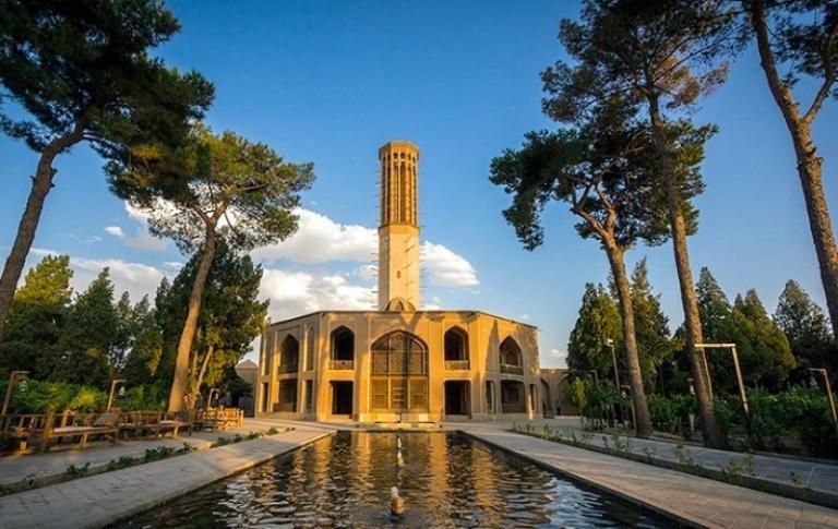 باغ دولت آباد یادگاره دوران افشاریه و زندیه در یزد