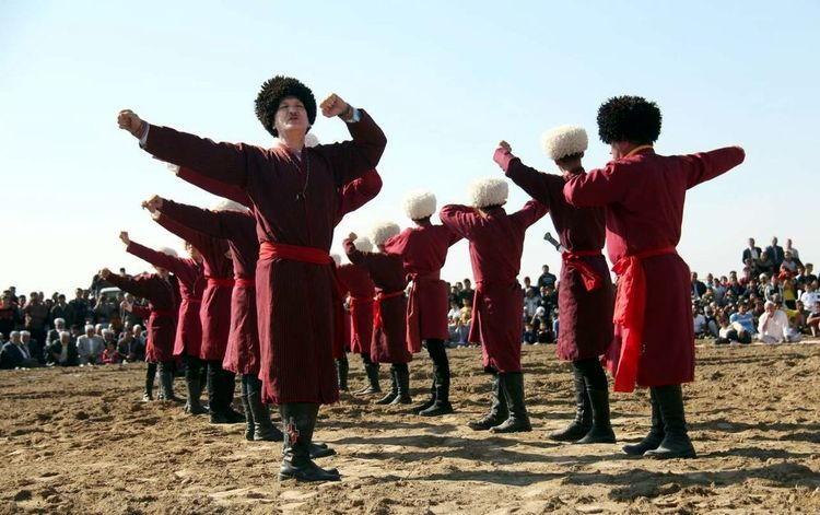 رقص مردم ترکمن صحرا