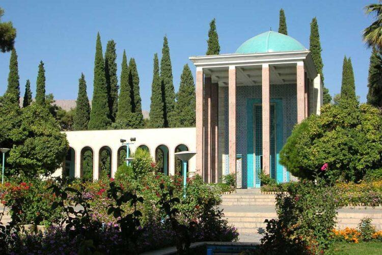آرامگاه سعدی شیرازی شاعر پرآوازه ایرانی