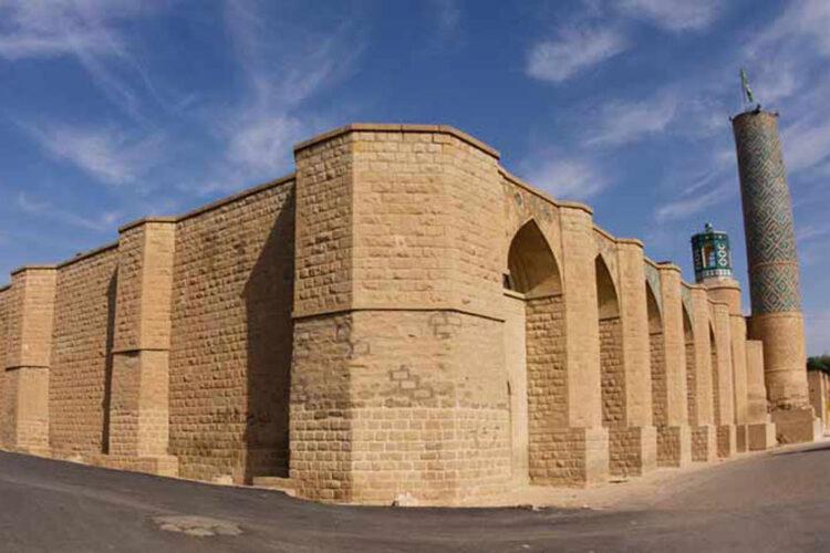 مسجد جامع جاذبه گردشگری شوشتر
