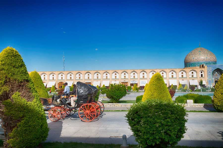 میدان نقش جهان جاذبه گردشگری اصفهان