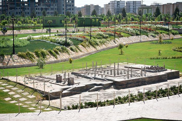 بوستان مینیاتوری جاذبه گردشگری مشهد