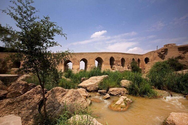 پل بند لشکر  از بناهای مجموعه نظام آبی تاریخی شوشتر