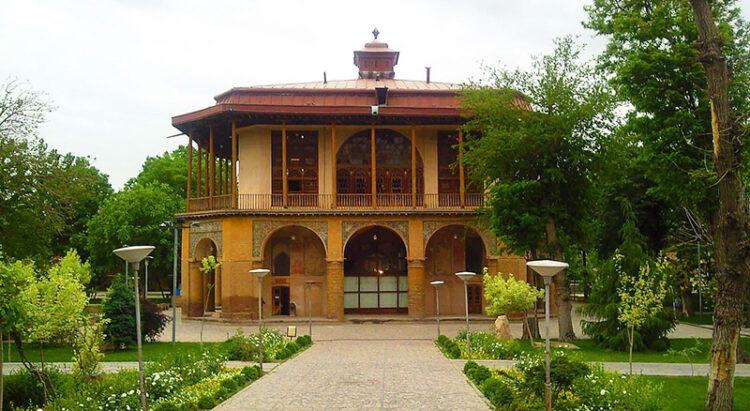 مجموعه باغ صفویه جاذبه گردشگری قزوین