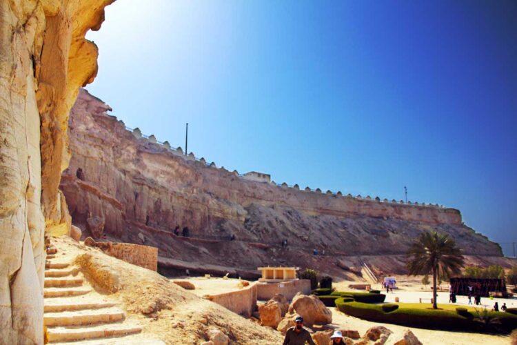 غار خربس پرستشگاه دوران زرتشتیان