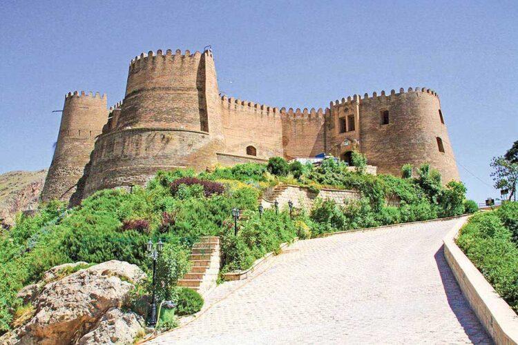 قلعه فلک الافلاک جاذبه گردشگری خرم آباد