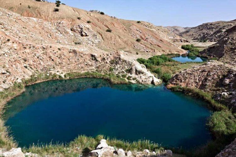 دریاچه دوقلوهای سیاه گاو ایلام