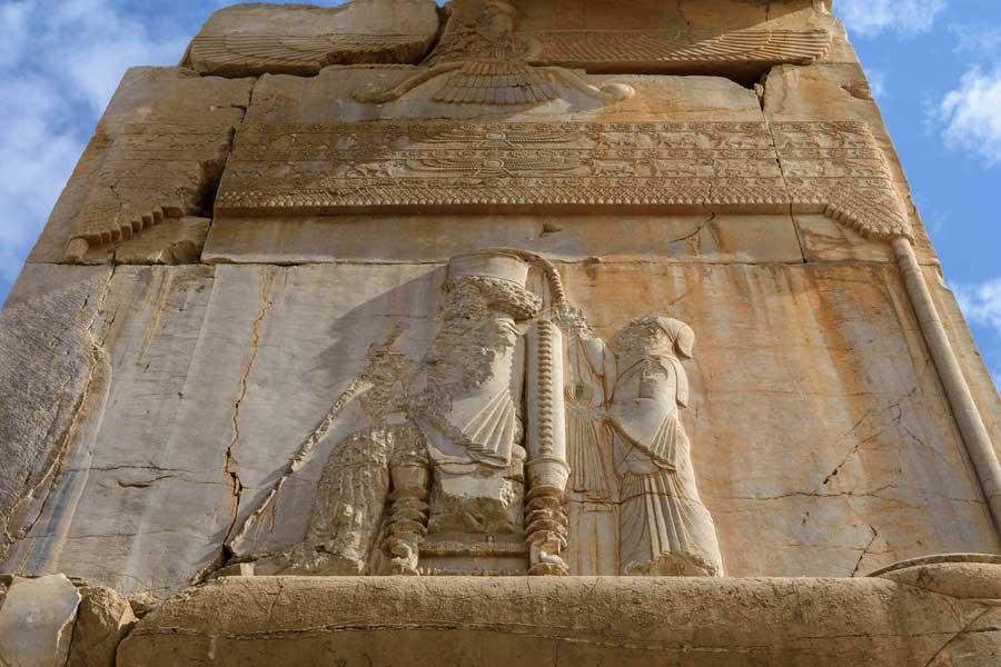 اعتقاد پادشاهان هخامنشیان به خدای بزرگ