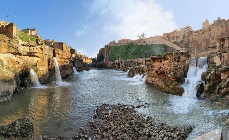 سازه های آبی شوشتر - سفر به خوزستان