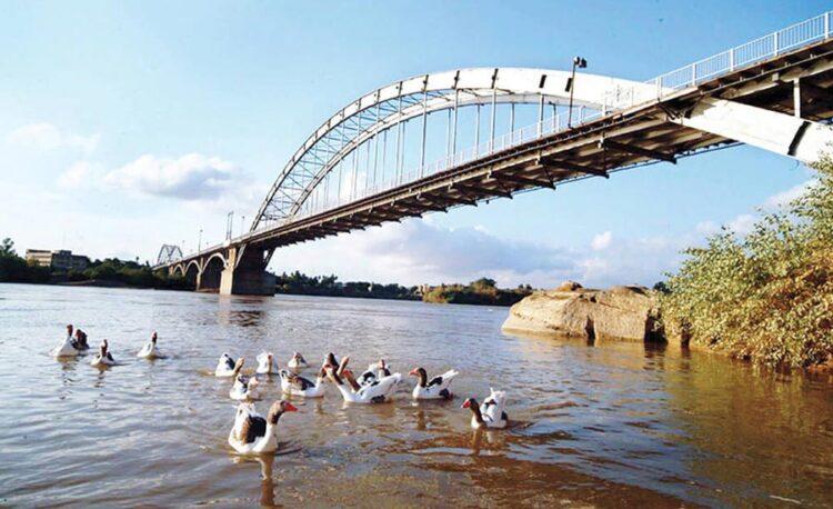 سفر به خوزستان - پل سفید