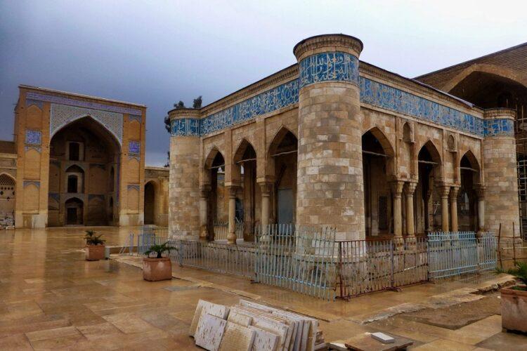 مسجد عتیق جام قدیمی ترین سازه اسلامی شیراز