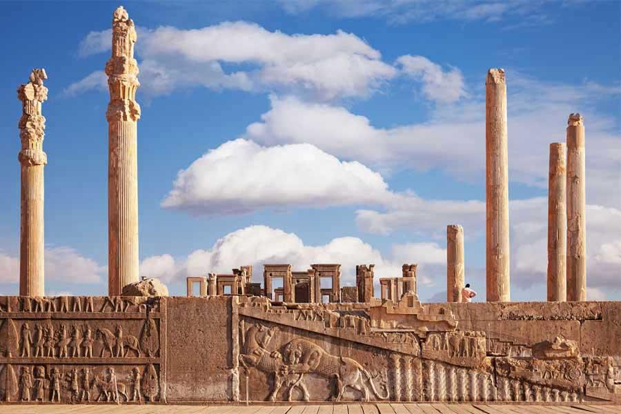 تخت جمشید جاذبه گردشگری استان فارس