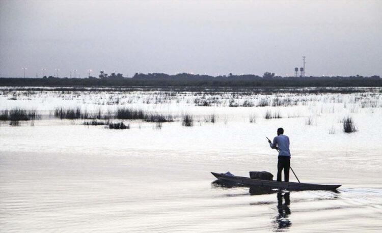 سفر به خوزستان - تالاب شادگان