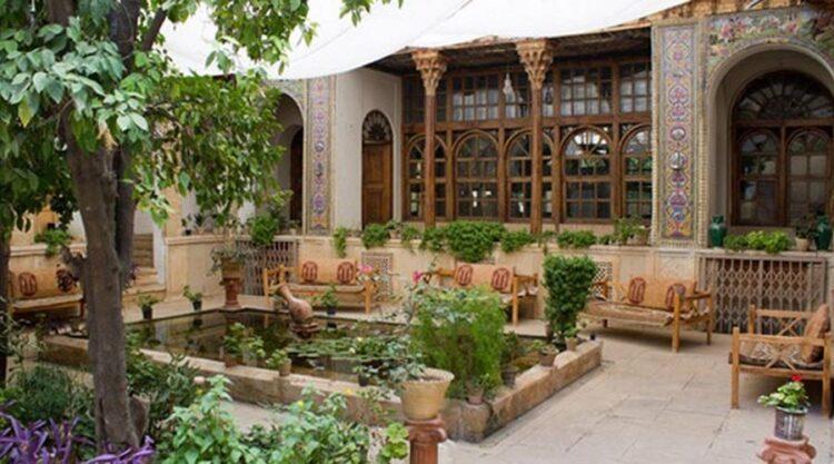 معماری سنتی شیراز - سازمان دهی