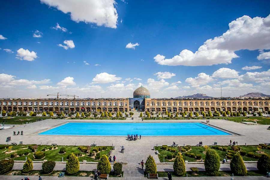 میدان نقش جهان اصفهان خاطرات سفر به اصفهان