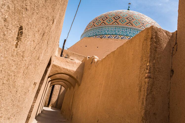 ویژگی ها و مشخصات بافت سنتی و تاریخی یزد
