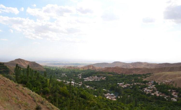 سفر به نیشابور - روستای بوژان