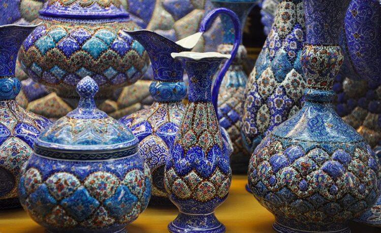 هنر در اصفهان در چه شاخه هایی قابل مشاهده است