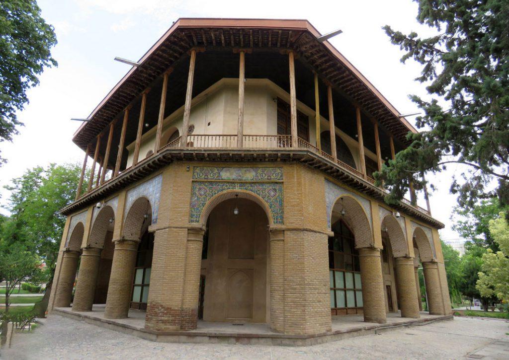 باغ تاریخی صفوی قزوین