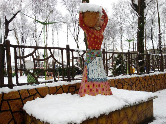 پارک فومن، زیباترین جاذبه گردشگری شهرستان فومن